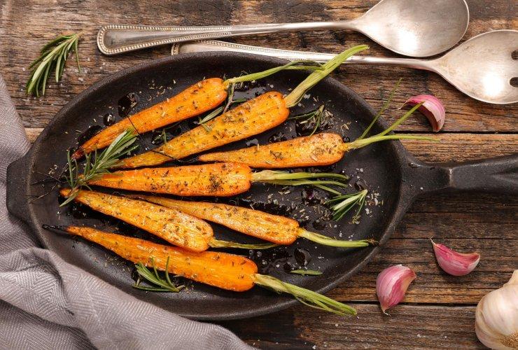 Chipotle & Honning Glaseret Gulerødder