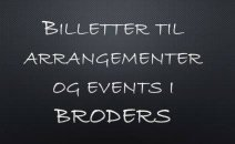 Arrangementer & Events