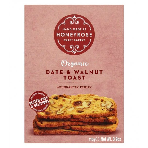 Honeyrose, Date & Walnut Toast